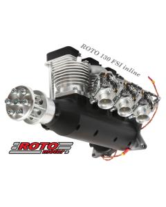 Roto Motor 130cc FS Gas / Petrol Inline 3 Cylinder 4 Stroke Engine 03-0129