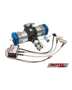 Roto Motor 50cc V2 Gas / Petrol Twin Cylinder 2 Stroke Engine 03-0504