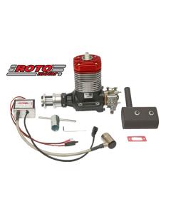 Roto Motor 35cc VI Gas / Petrol Single Cylinder 2 Stroke Engine 03-0501