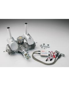 DLE 60cc Gas / Petrol Twin Cylinder 2 Stroke Engine DLE-60