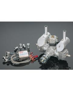 DLE 40cc Gas / Petrol Twin Cylinder 2 Stroke Engine DLE-40
