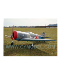 """CY Model 50cc + Gas / Petrol Lavochkin LA-7 ARTF 84"""" CY-8024C"""